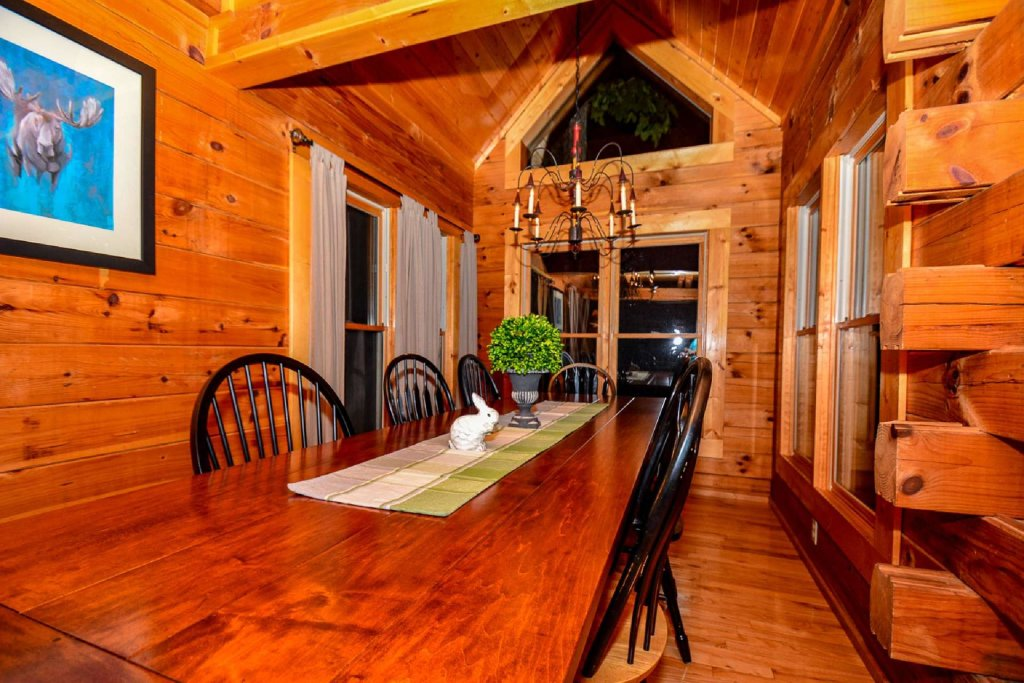 Photo of a Sevierville Cabin named Mountain Splendor - This is the second photo in the set.