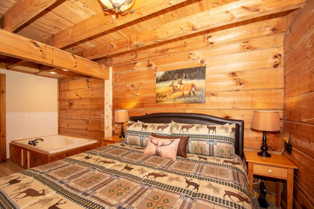 Photo of a Sevierville Cabin named Marietta's Dream - This is the twenty-first photo in the set.