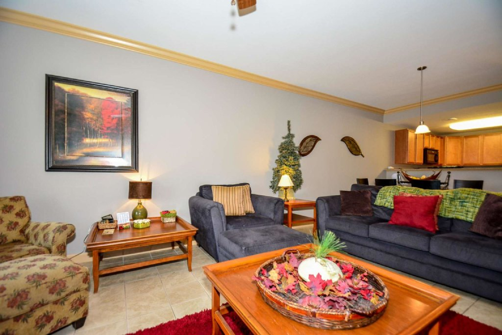 Photo of a Pigeon Forge Cabin named Mountain View Condo #3505 - This is the second photo in the set.