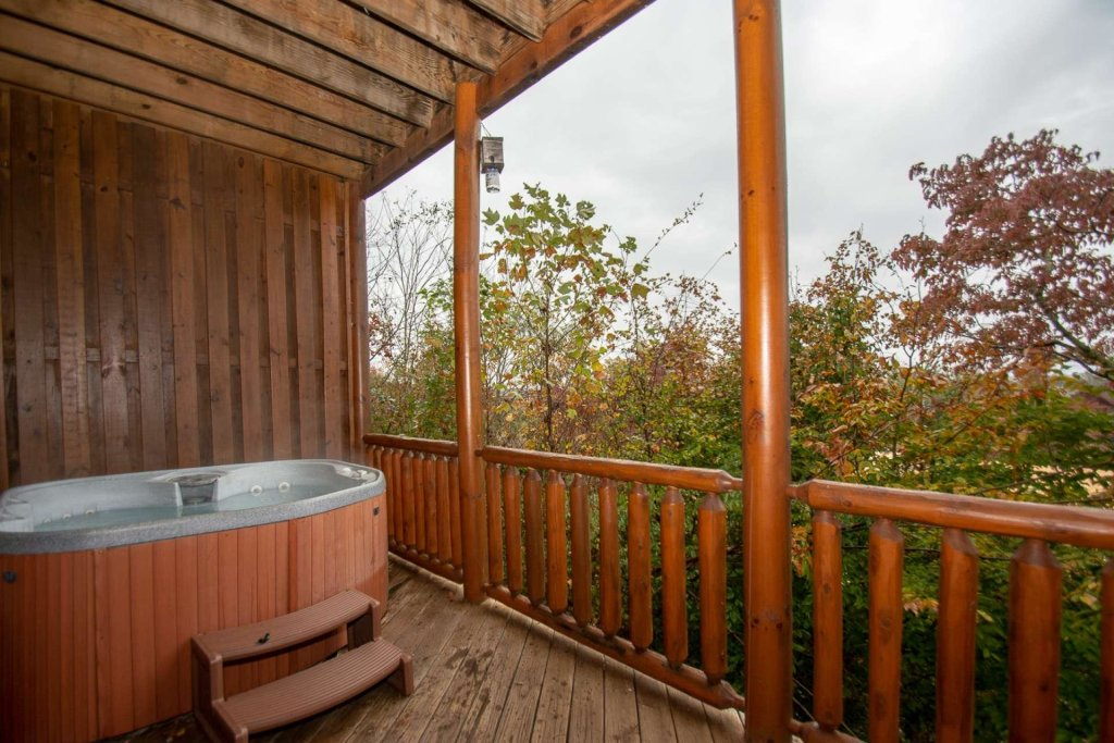 Photo of a Sevierville Cabin named A Bear's-eye View - This is the twenty-fifth photo in the set.