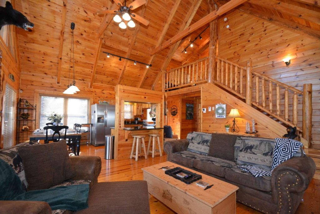 Photo of a Sevierville Cabin named Hidden Haven - This is the eighteenth photo in the set.