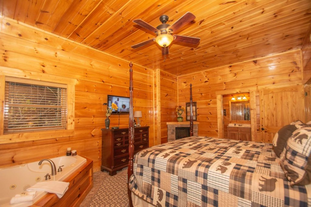 Photo of a Sevierville Cabin named A Bear's-eye View - This is the twenty-sixth photo in the set.