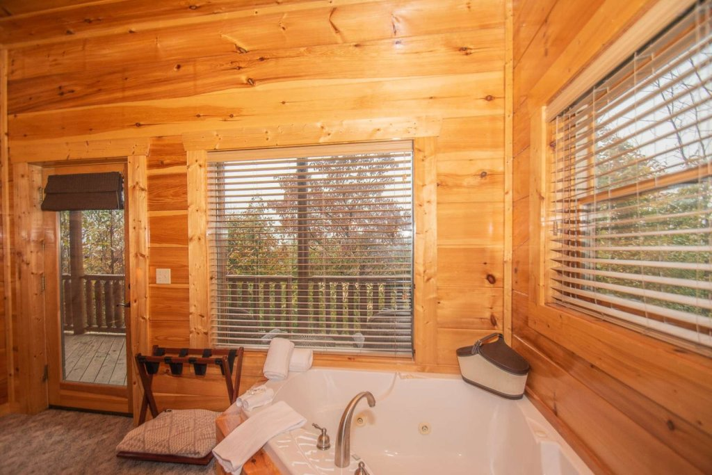 Photo of a Sevierville Cabin named A Bear's-eye View - This is the twenty-eighth photo in the set.
