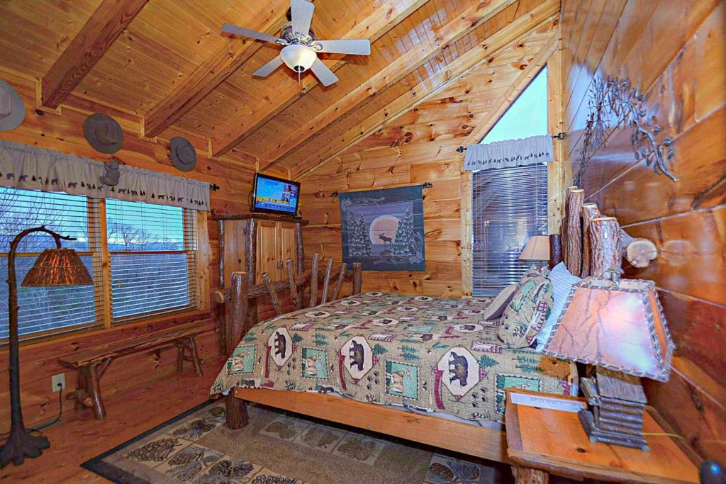 Photo of a Sevierville Cabin named Zip-a-dee-doo - This is the thirty-eighth photo in the set.