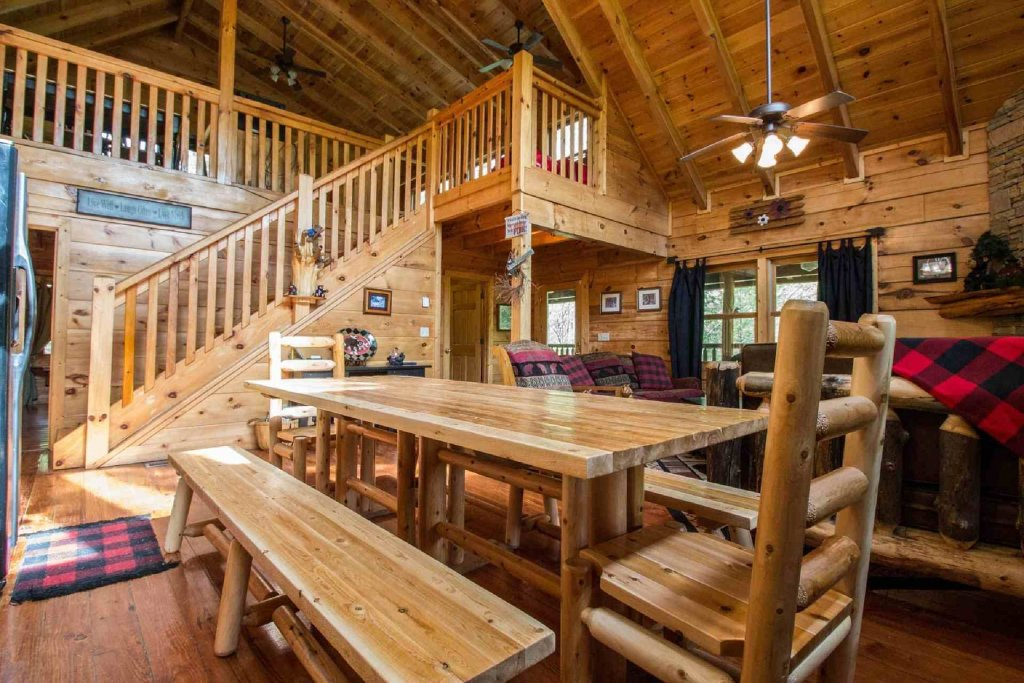 Photo of a Sevierville Cabin named Kozy Getaway - This is the third photo in the set.