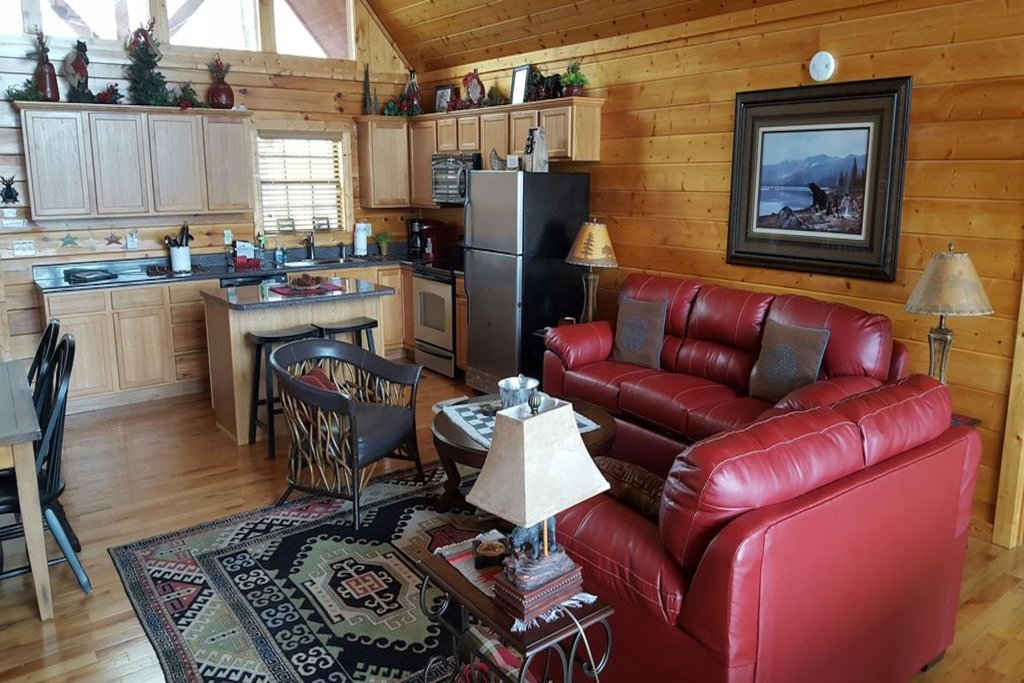Photo of a Pigeon Forge Cabin named Smoky Mountain View - This is the ninth photo in the set.