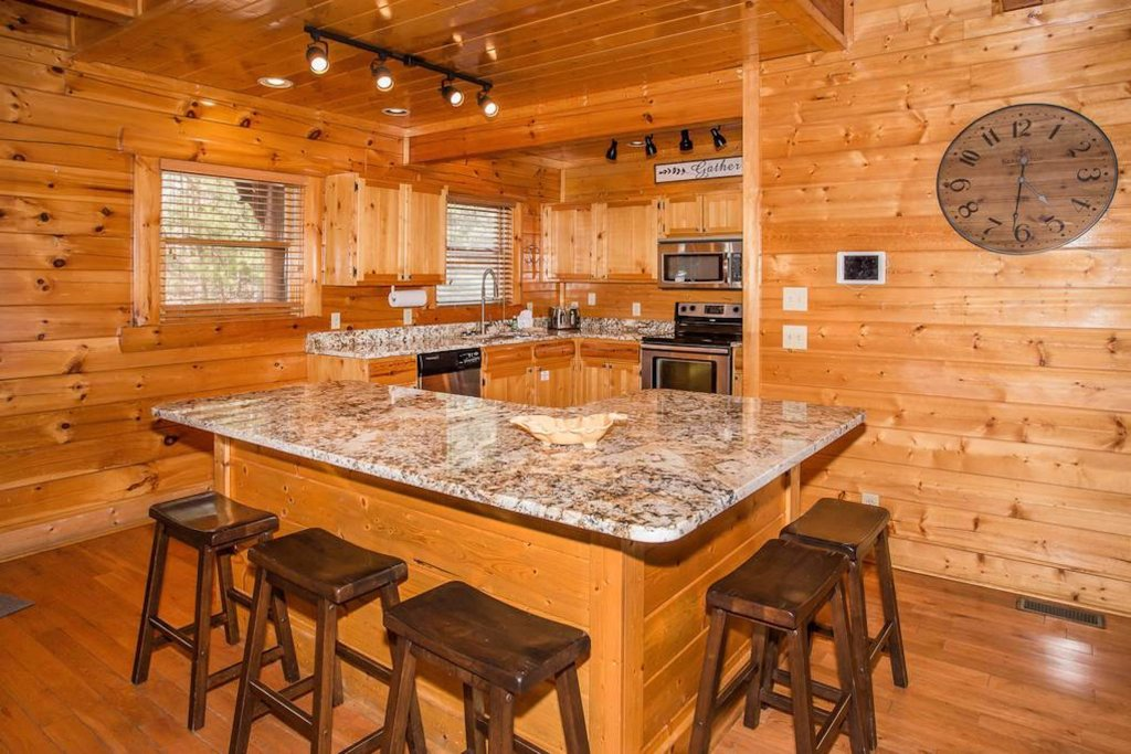 Photo of a Sevierville Cabin named Heaven Sent - This is the fifth photo in the set.