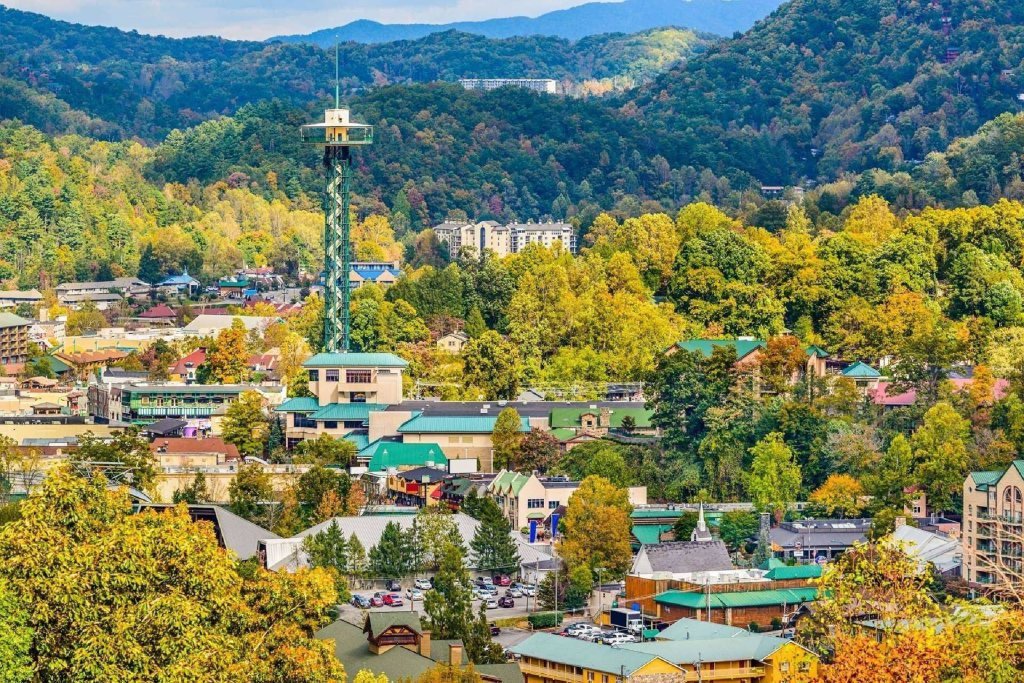 Photo of a Gatlinburg Cabin named Gatlinburg Towers #208 - This is the twentieth photo in the set.