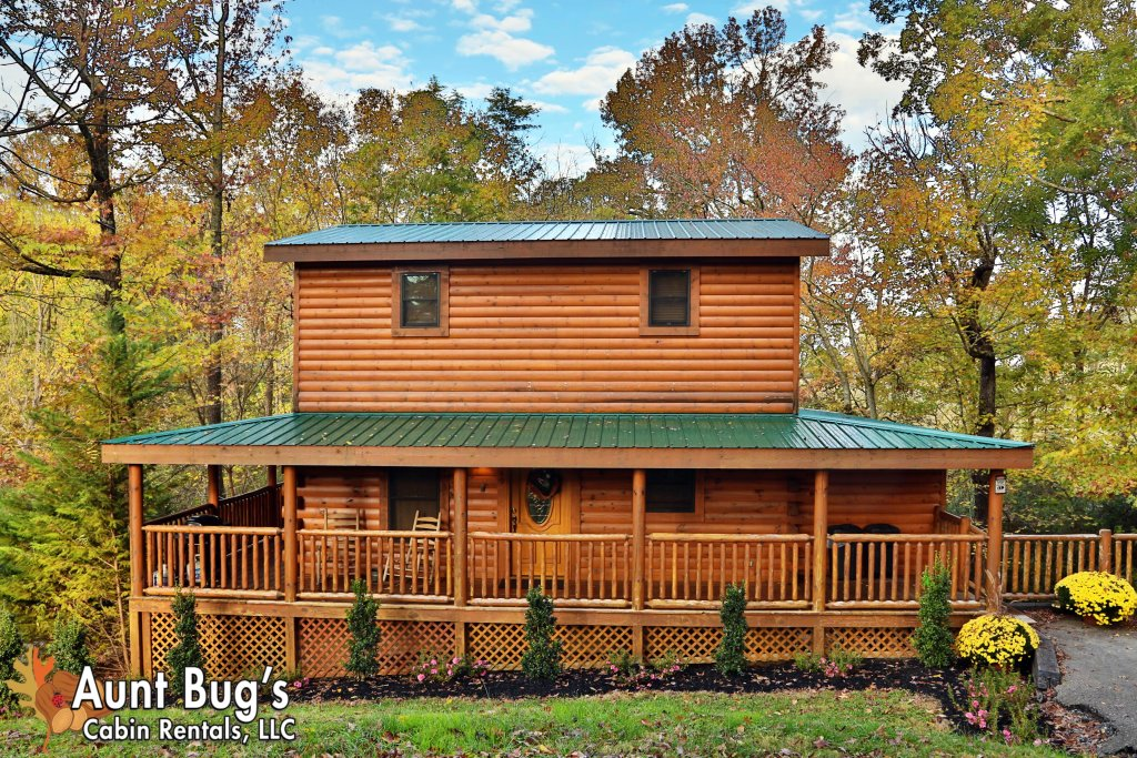 Photo of a Pigeon Forge Cabin named Skinny Dippin' #261 - This is the thirty-fourth photo in the set.
