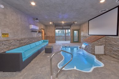 Escape To The Ultimate Honeymoon Pool Cabin With Private Indoor Pool
