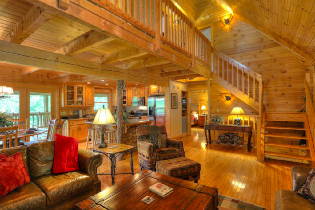 Photo of a Sevierville Cabin named Teddy Bear Lodge - This is the third photo in the set.