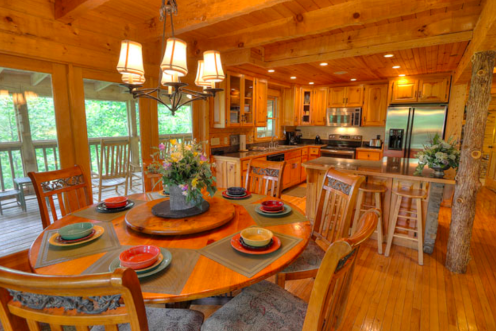 Photo of a Sevierville Cabin named Teddy Bear Lodge - This is the tenth photo in the set.