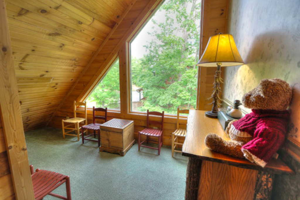 Photo of a Sevierville Cabin named Teddy Bear Lodge - This is the thirteenth photo in the set.