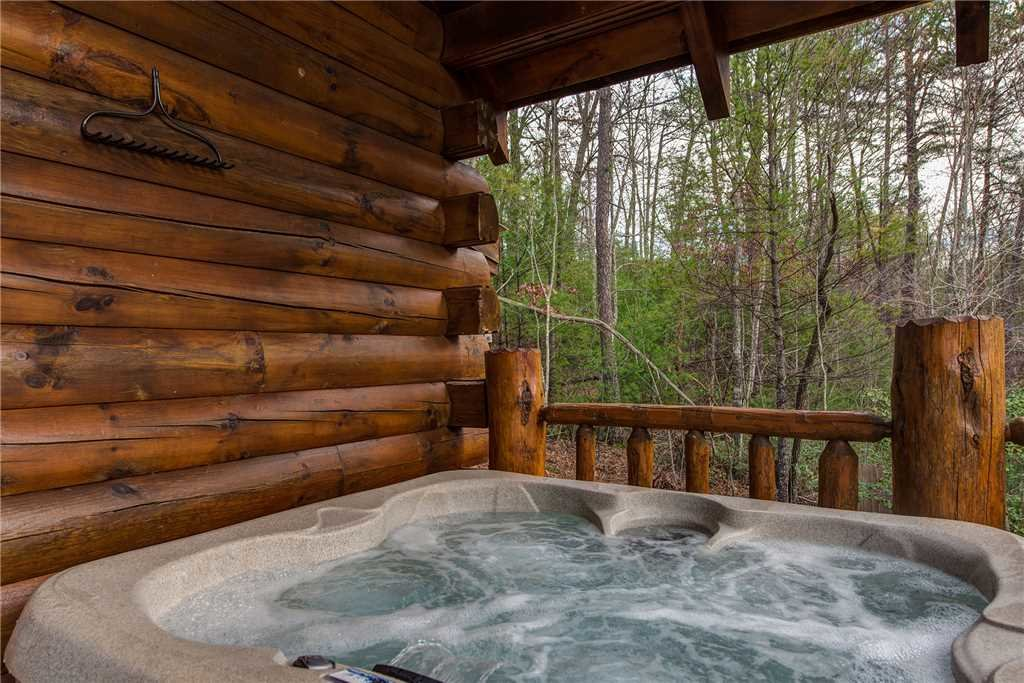 Photo of a Gatlinburg Cabin named Peaceful Mountain Gem - This is the second photo in the set.