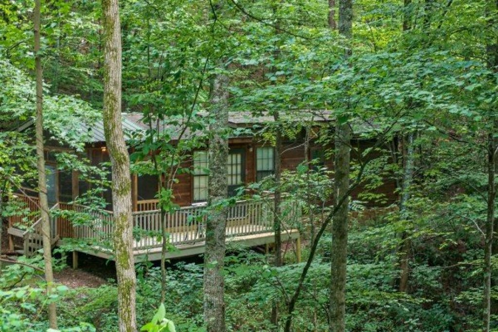 Photo of a Gatlinburg Cabin named Angel's Dream - This is the second photo in the set.