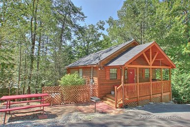 Value Studio Cabin For 3 With A Pool Table, Gas Fireplace, And Hot Tub.