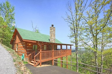 Studio Cabin Perfect For A Romantic Getaway With An Incredible Mountain View.