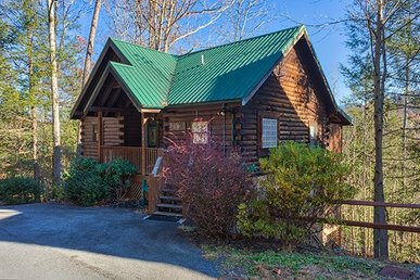 3 Bedroom, 3.5 Bath Deluxe Cabin For 8 With A Hot Tub & Incredible Mountain View