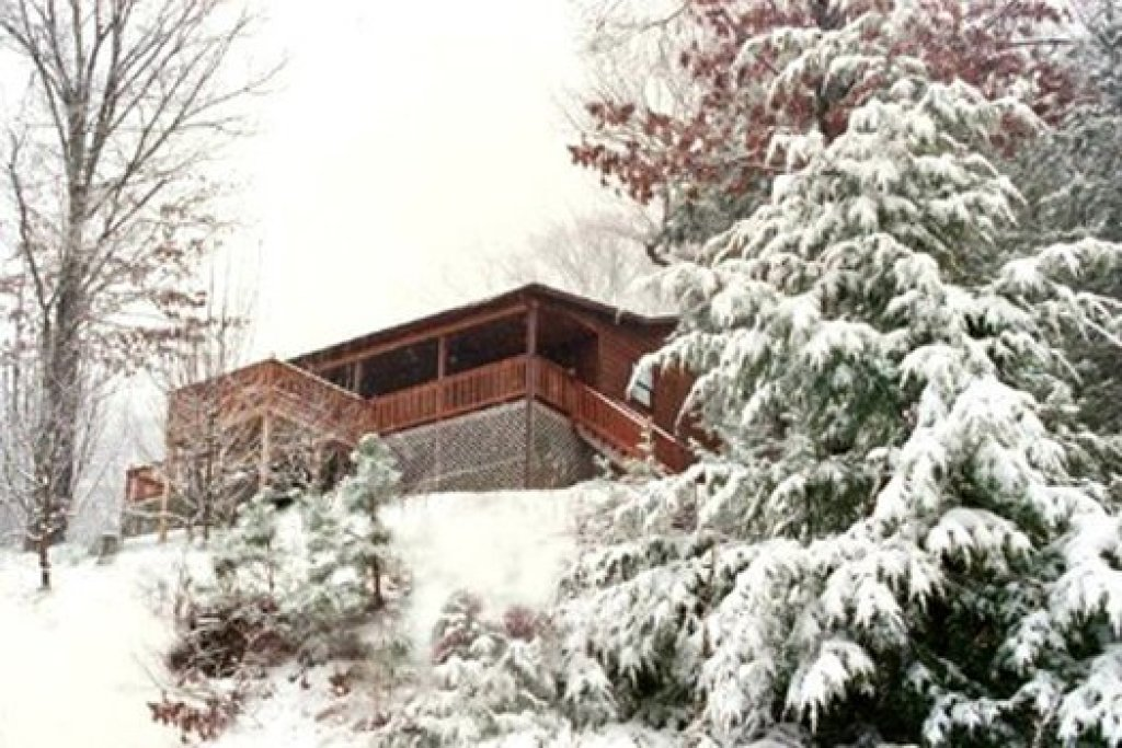 Photo of a Pigeon Forge Cabin named Apple View - This is the twentieth photo in the set.