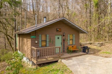 Studio Cabin Near Dollywood And The Parkway With A Hot Tub And No Mountain Roads