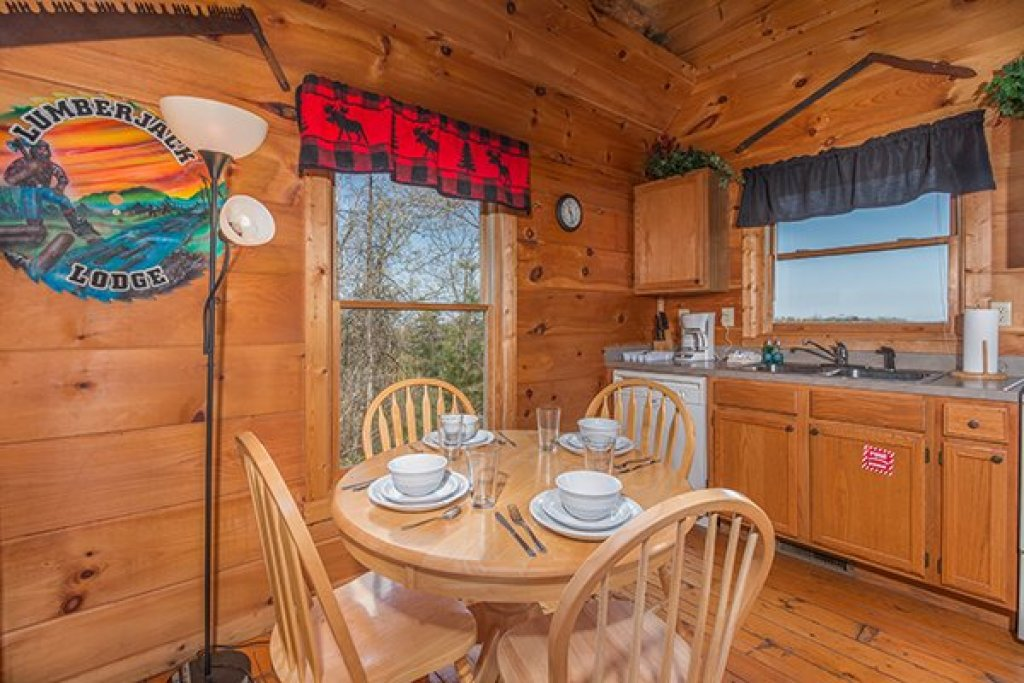 Photo of a Gatlinburg Cabin named Lumber Jack Lodge - This is the fourth photo in the set.