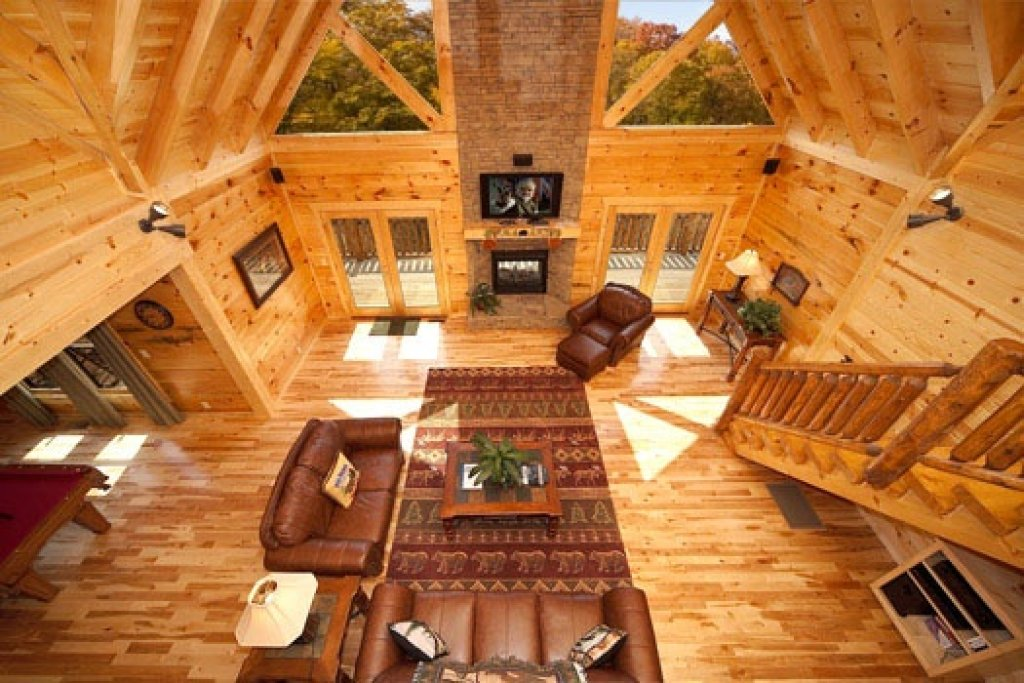 Photo of a Gatlinburg Cabin named Big Bear Cove - This is the fifth photo in the set.