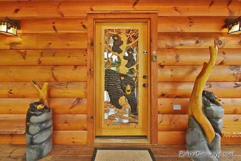 Photo of a Sevierville Cabin named Rainbow's End - This is the twenty-second photo in the set.