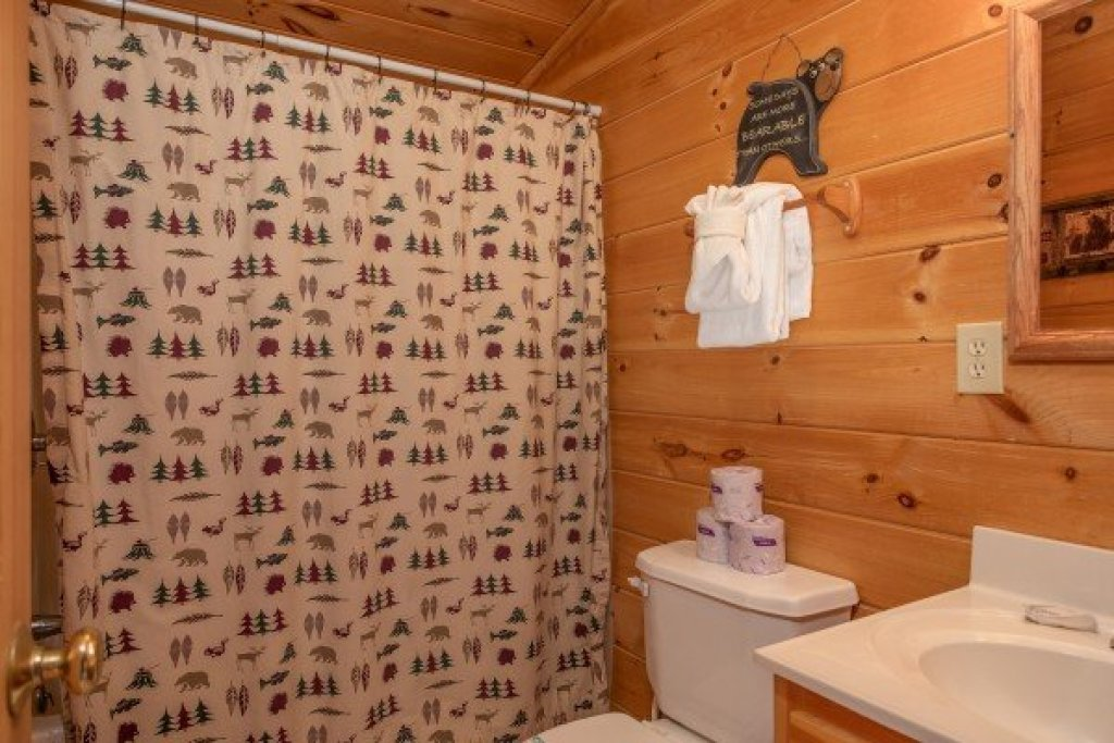 Photo of a Pigeon Forge Cabin named Bearly Mine - This is the sixteenth photo in the set.