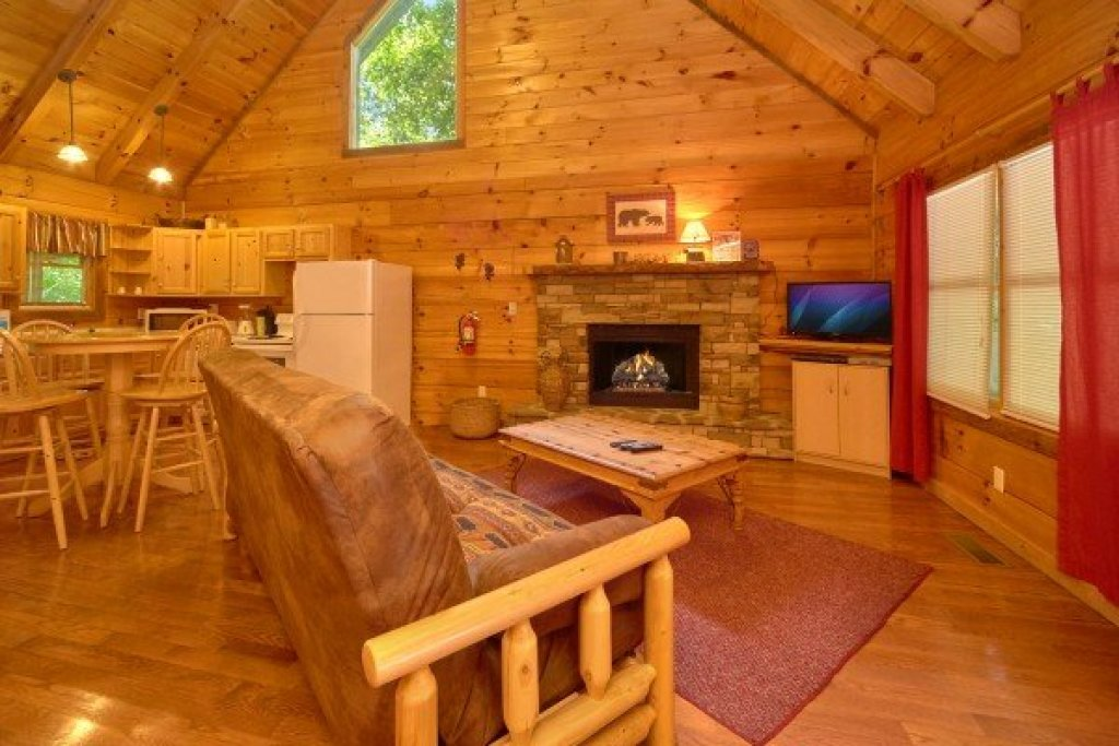 Photo of a Sevierville Cabin named Wild Crush - This is the second photo in the set.