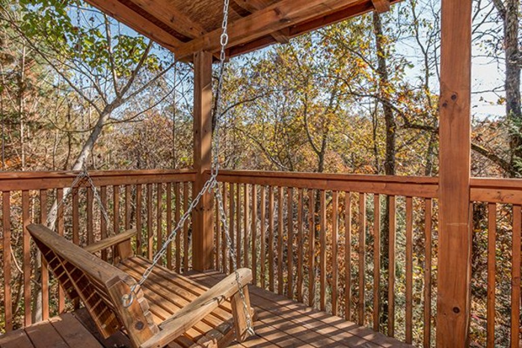 Photo of a Pigeon Forge Cabin named Shy Bear - This is the fourteenth photo in the set.