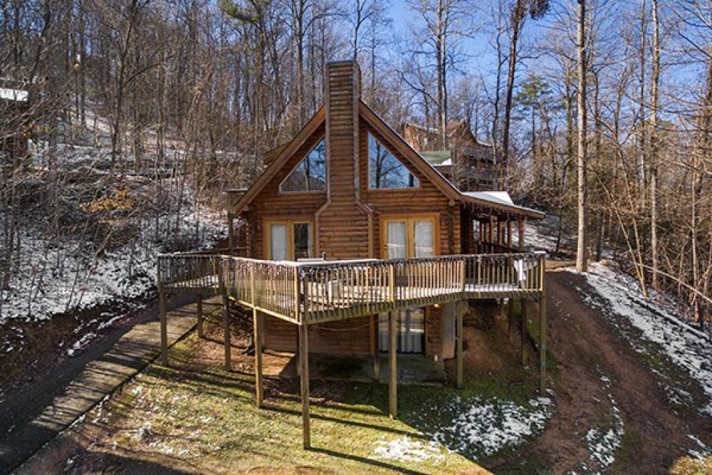 Photo of a Sevierville Cabin named Sierra's Mountain Retreat - This is the seventeenth photo in the set.