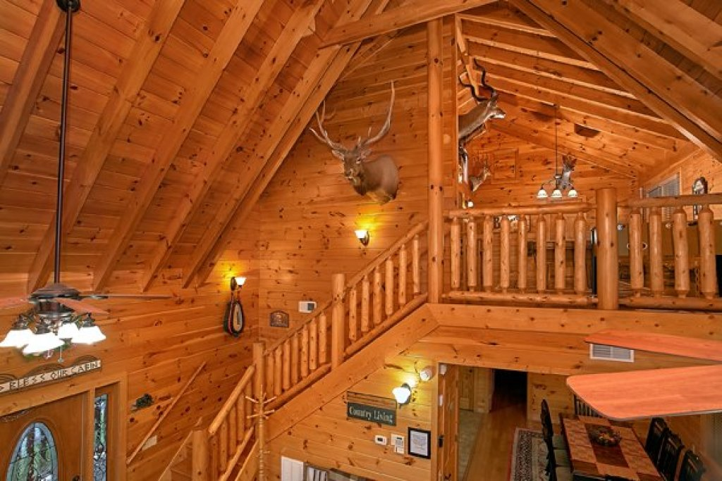 Photo of a Sevierville Cabin named Mountain Wonderland - This is the twentieth photo in the set.