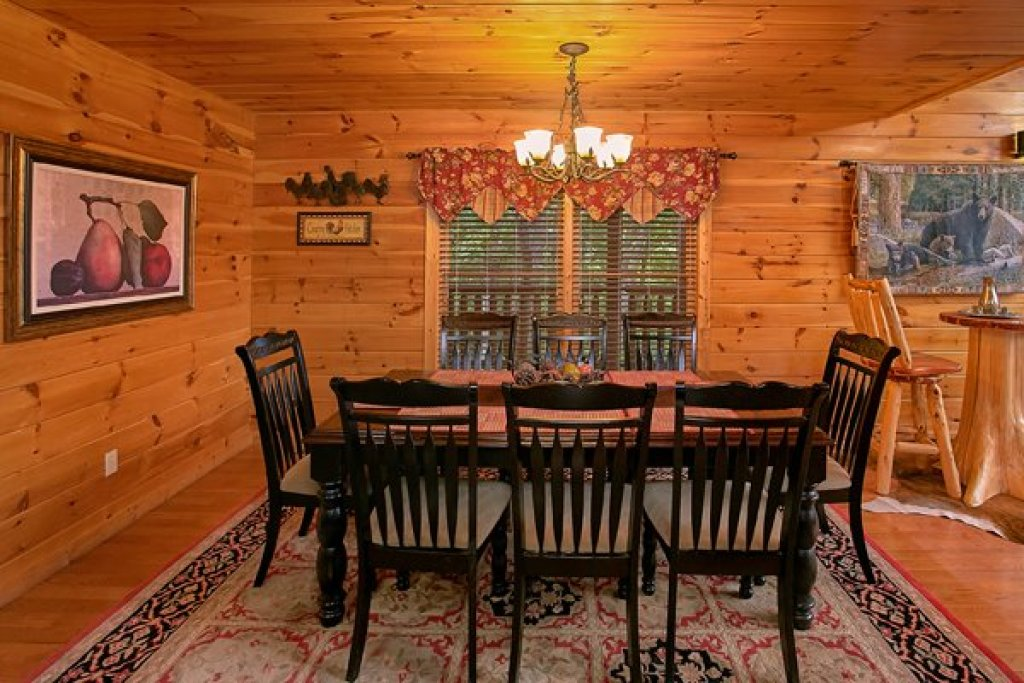 Photo of a Sevierville Cabin named Mountain Wonderland - This is the seventh photo in the set.