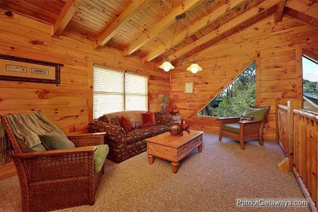 Photo of a Pigeon Forge Cabin named Logged Out - This is the ninth photo in the set.