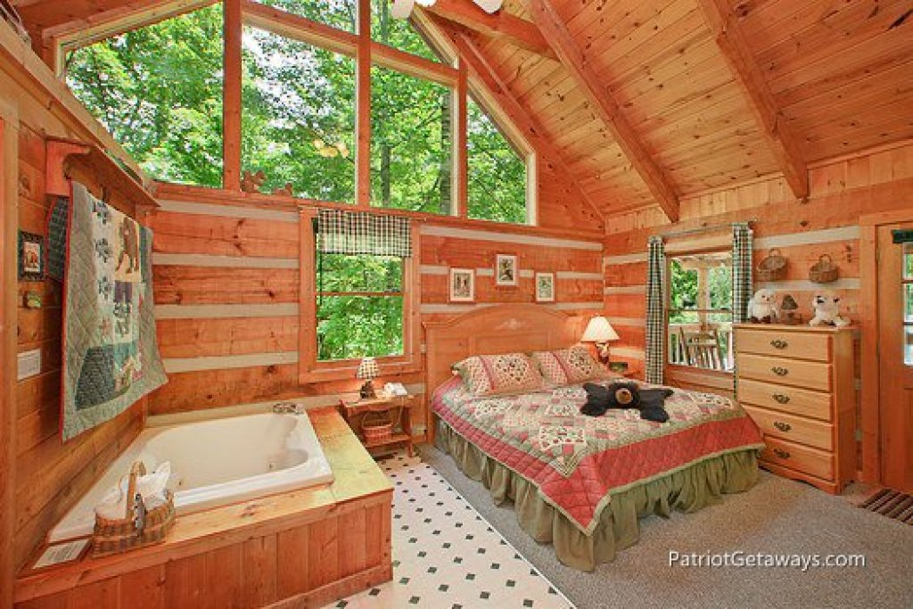 Photo of a Sevierville Cabin named Call Of The Wild - This is the fourth photo in the set.