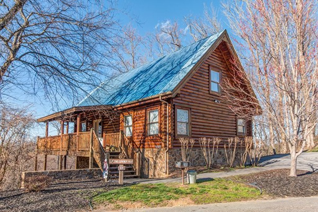 Photo of a Pigeon Forge Cabin named The Cowboy Way - This is the first photo in the set.