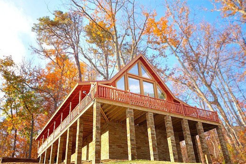 Photo of a Sevierville Cabin named Mountain Wonderland - This is the fourteenth photo in the set.