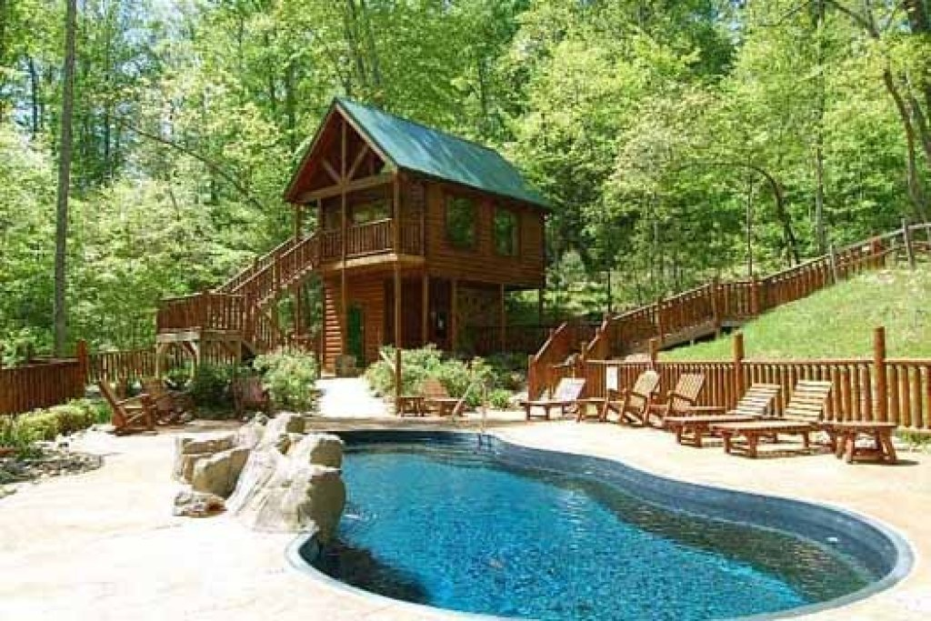 Photo of a Gatlinburg Cabin named Tree Top Lodge - This is the twenty-third photo in the set.