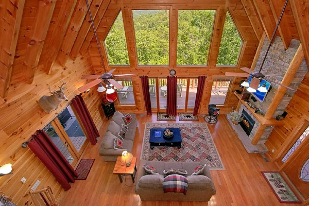 Photo of a Sevierville Cabin named Mountain Wonderland - This is the sixth photo in the set.