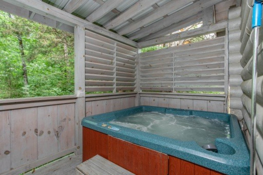 Photo of a Pigeon Forge Cabin named Alpine Something Blue - This is the twelfth photo in the set.