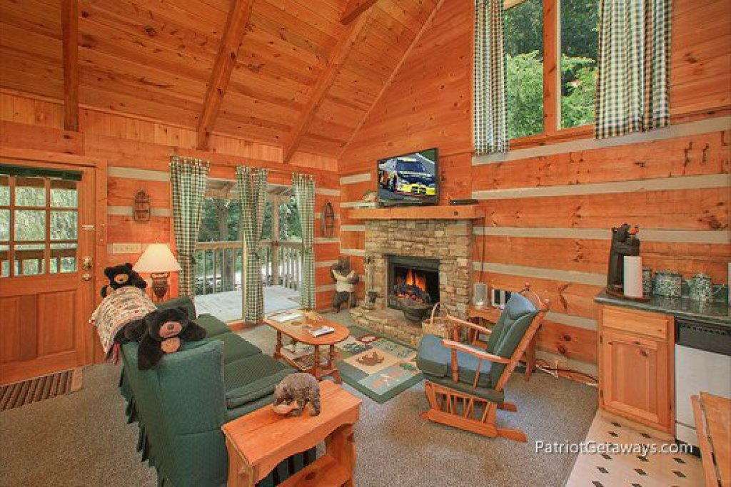 Photo of a Sevierville Cabin named Call Of The Wild - This is the second photo in the set.