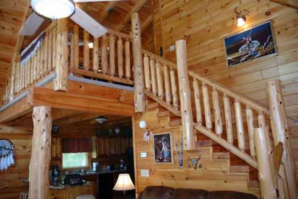 Photo of a Pigeon Forge Cabin named Alpine Sondance - This is the fourth photo in the set.
