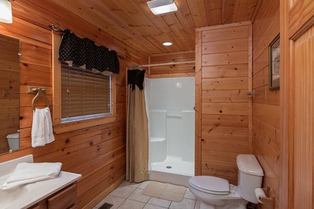 Photo of a Pigeon Forge Cabin named Family Ties Lodge - This is the tenth photo in the set.