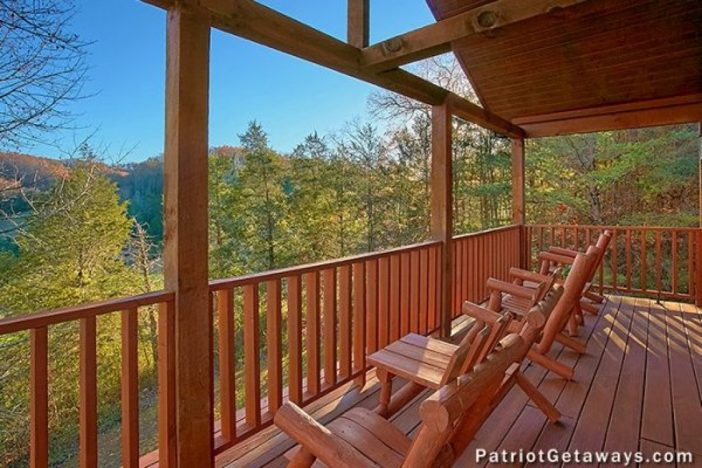 Photo of a Pigeon Forge Cabin named A Getaway With A View - This is the second photo in the set.