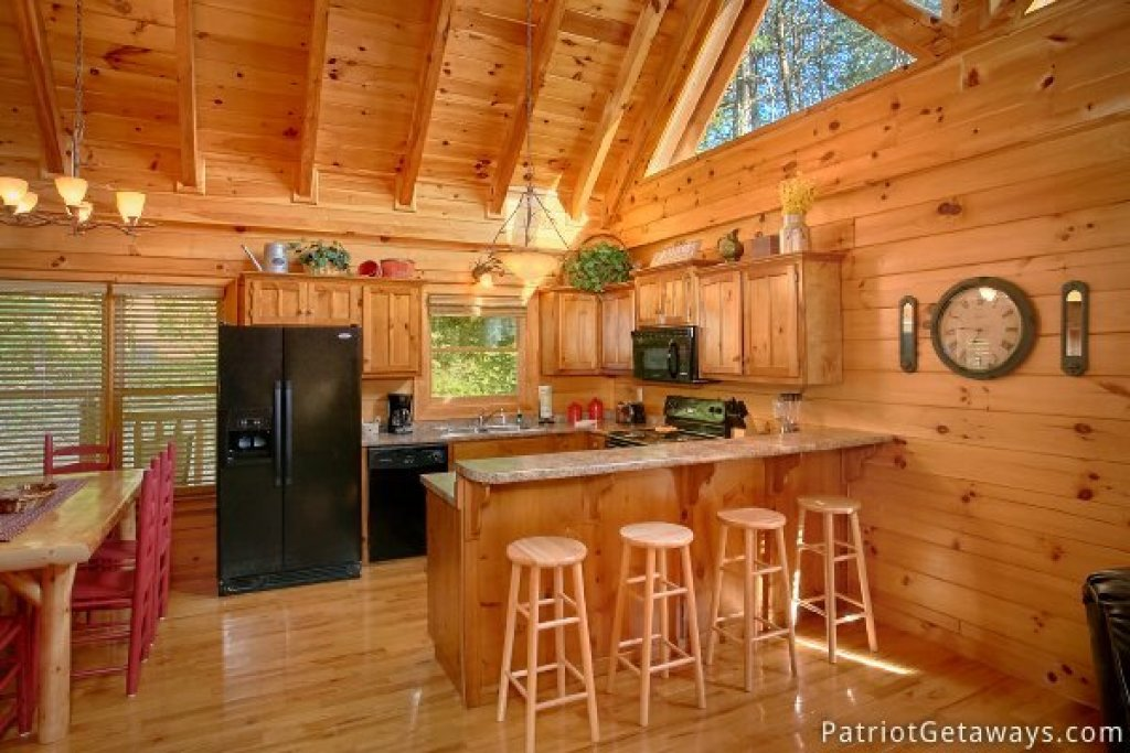 Photo of a Pigeon Forge Cabin named Alpine Sundance Trail - This is the fifth photo in the set.