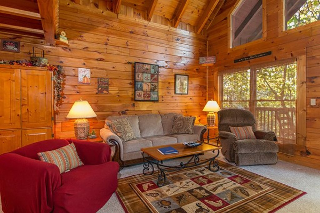 Photo of a Gatlinburg Cabin named A Honeymoon Haven - This is the third photo in the set.
