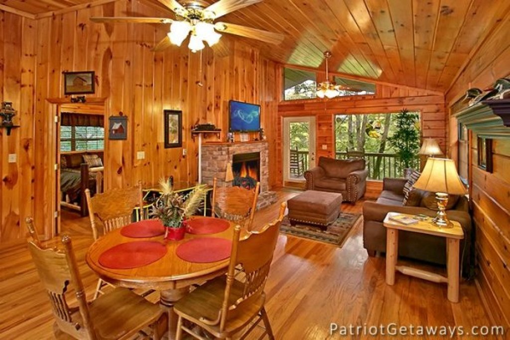 Photo of a Pigeon Forge Cabin named Always Together Forever - This is the fourth photo in the set.