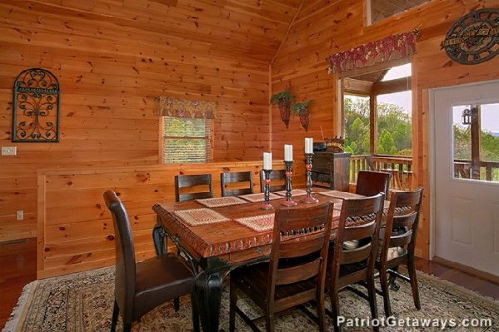 Photo of a Sevierville Cabin named Privacy & A View - This is the fifth photo in the set.