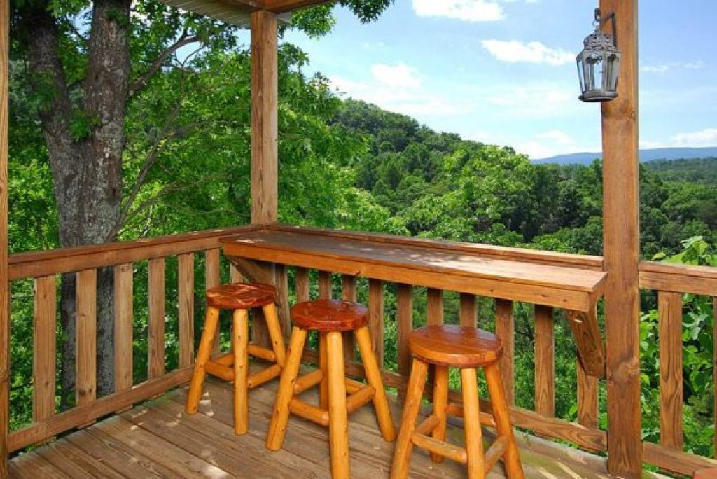 Photo of a Sevierville Cabin named Privacy & A View - This is the ninth photo in the set.