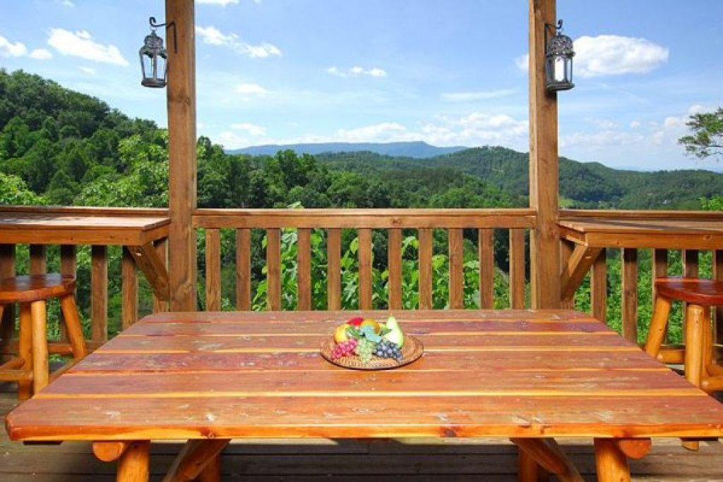 Photo of a Sevierville Cabin named Privacy & A View - This is the sixteenth photo in the set.